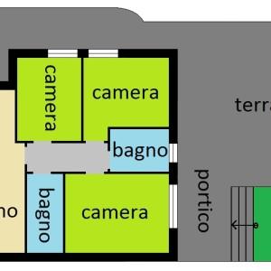 4 loc giardino A1 € 279 (mq. 96)