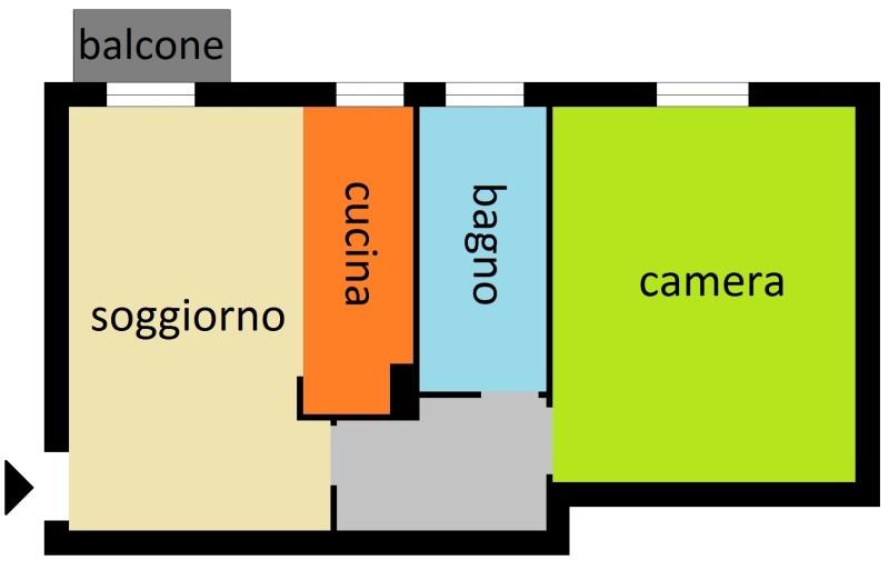 piantina 90 Bareggio