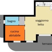2 loc A9 + sottotetto € 299 (mq. 68.85)